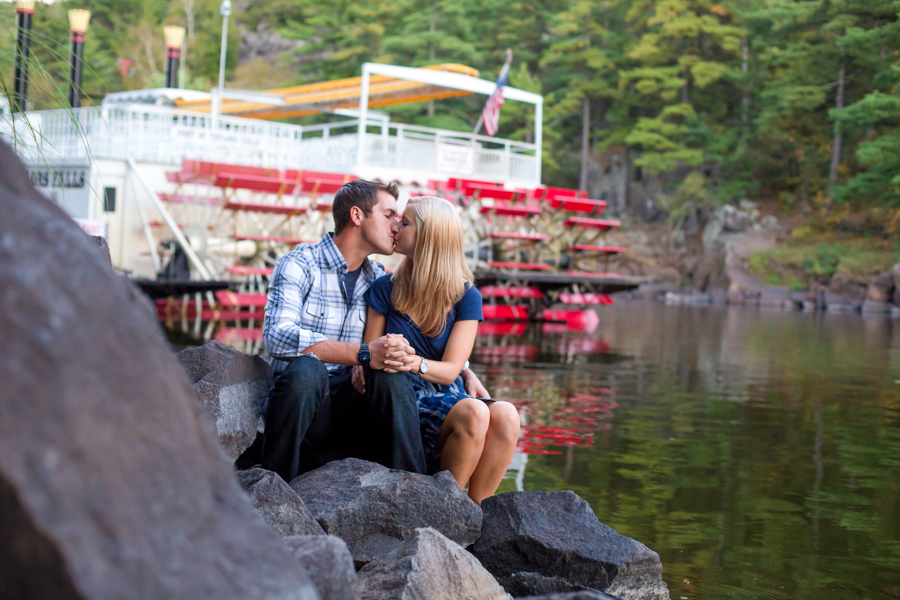 Such a great time doing Kelli and Grant's Engagement Photos in Taylor's Falls, Minnesota!